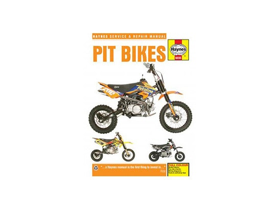 Haynes Pit Bike manual sweepstakes