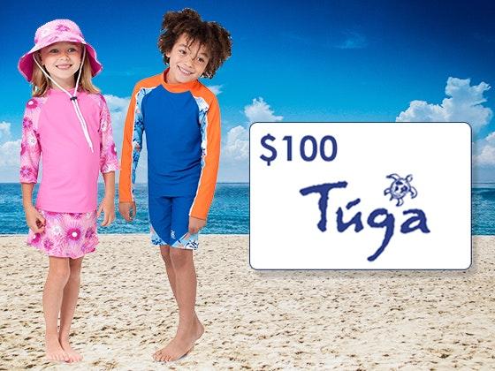 $100 TugaSunwear Gift Cards sweepstakes