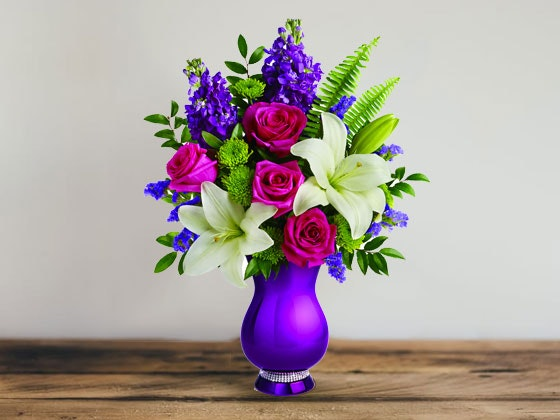 Teleflora Sparkle and Shine Bouquet sweepstakes