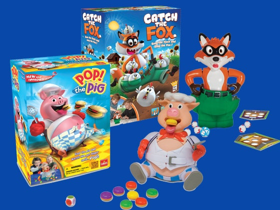 Catch the Fox and Pop! The Pig Game Pack sweepstakes
