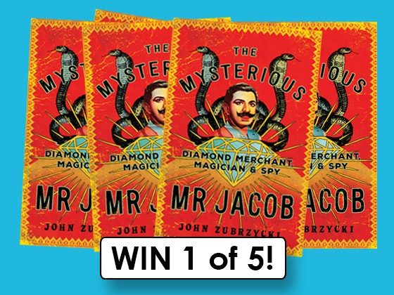 The Mysterious Mr Jacob Novel sweepstakes