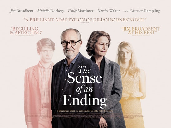 Win a Film Poster, Book and DVD bundle with THE SENSE OF AN ENDING sweepstakes