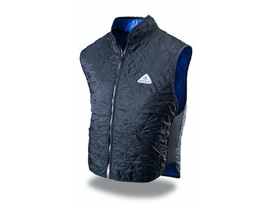 Hyperkewl Deluxe Cooling vest - size large, Blue/Black sweepstakes