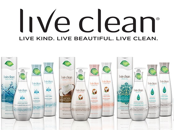 Live Clean package sweepstakes