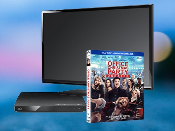 Office Christmas Party TV Bluray Giveaway sweepstakes