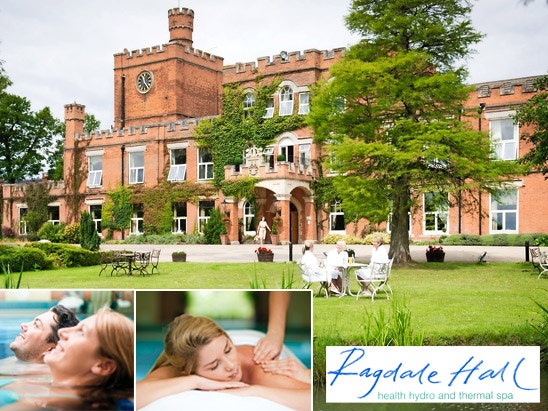 overnight break fro two at Ragdale hall sweepstakes