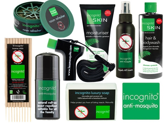 bundle of Incognito products sweepstakes
