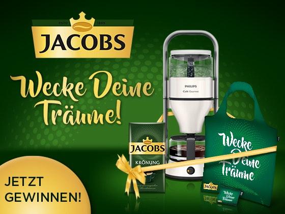 Genusspakete von Jacobs  Gewinnspiel