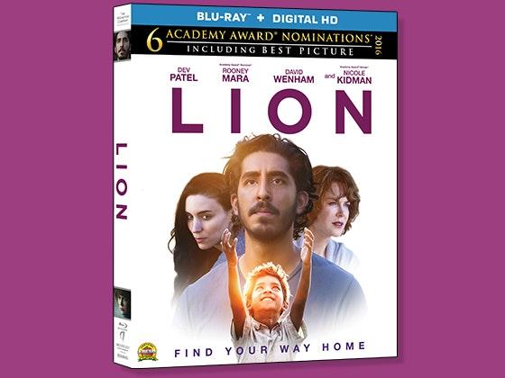 LION on Blu-ray sweepstakes
