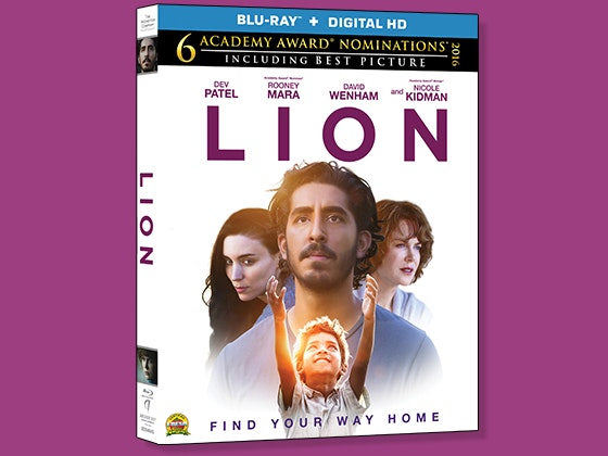 LION on Blu-ray sweepstakes