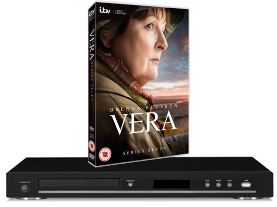 Vera Series 7 DVD Box Set & Blu-ray player sweepstakes