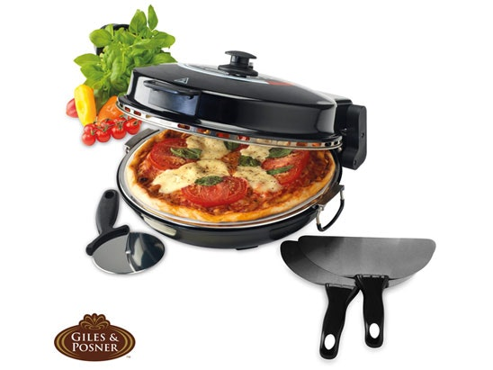 a Giles & Posner Bella pizza oven sweepstakes