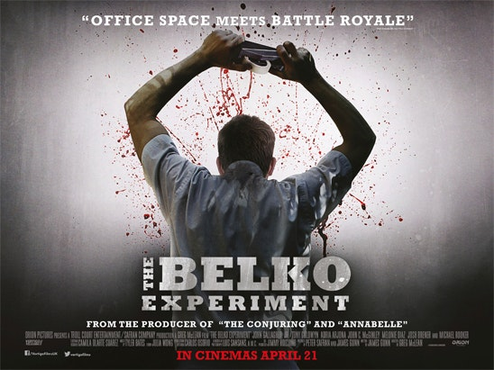 poster & t-shirt courtesy of THE BELKO EXPERIMENT  sweepstakes