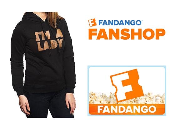"Fandango Gift Card & ""I'm a Lady"" Hoodie sweepstakes"