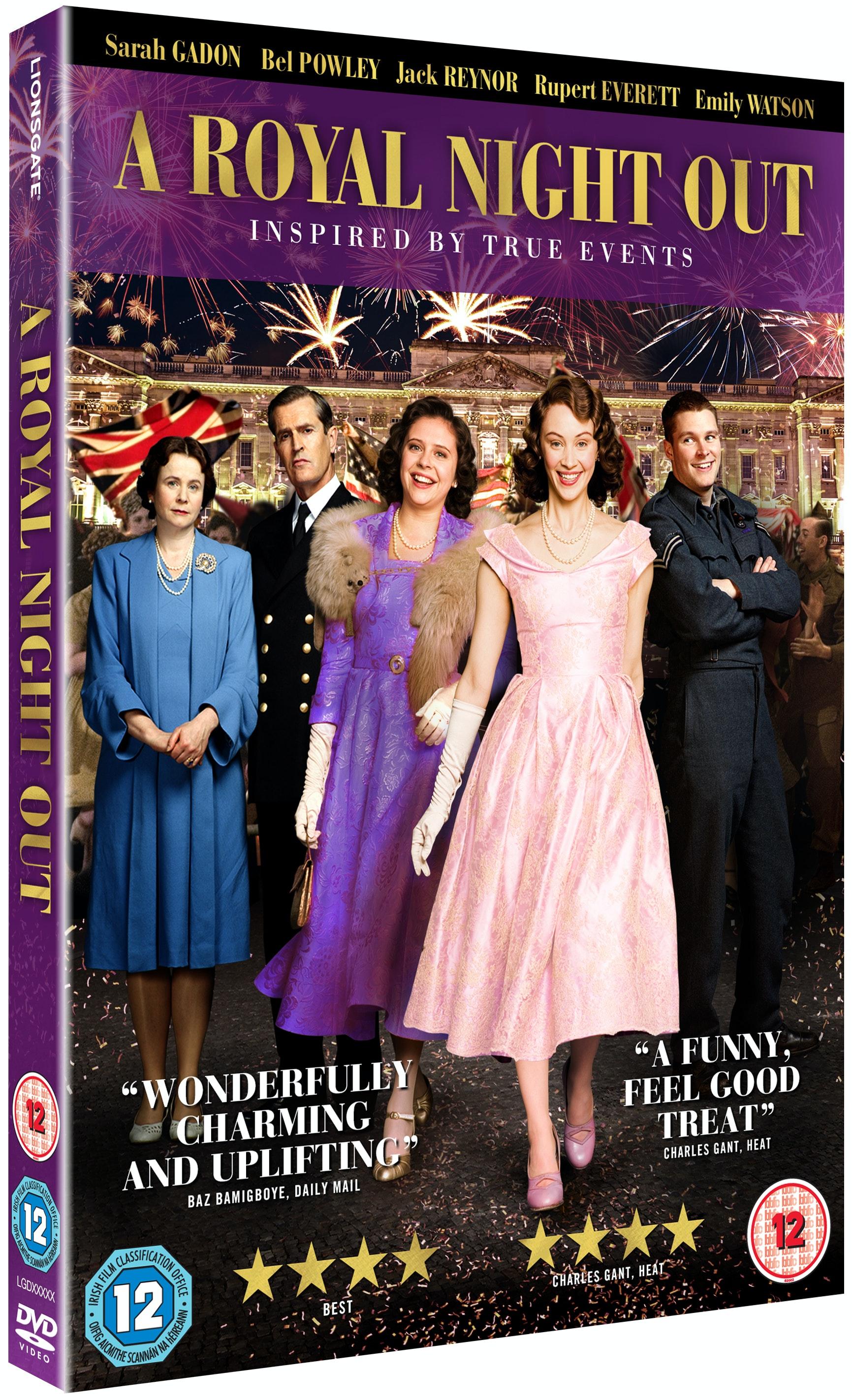 Royal night out 3d dvd retail oring
