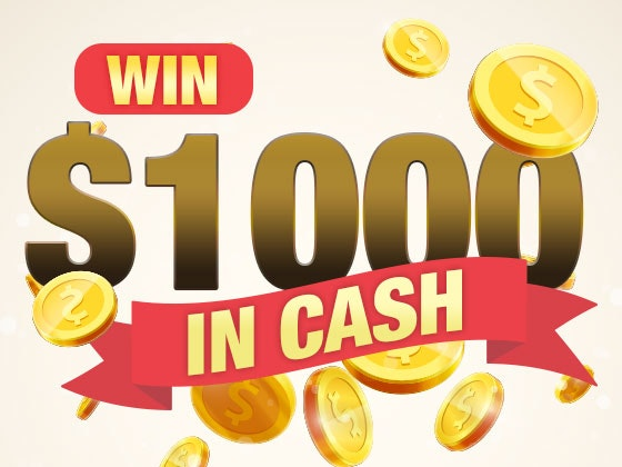 $1000 Cash May 2017 sweepstakes