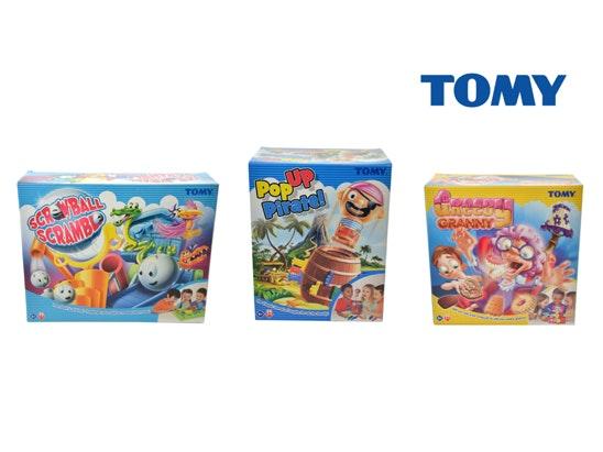 TOMY games bundle  sweepstakes