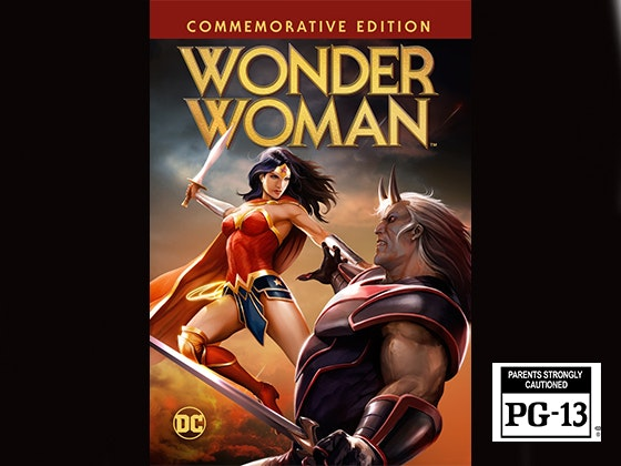 Wonder Woman Commemorative Edition on Digital HD sweepstakes