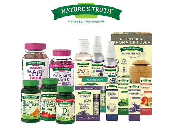 Vitamin & Aromatherapy Bundle from Nature's Truth sweepstakes
