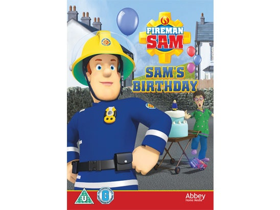 FIREMAN SAM – SAM'S BIRTHDAY sweepstakes