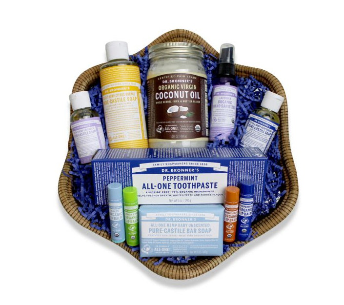 Coconut oil gift basket sweepstakes