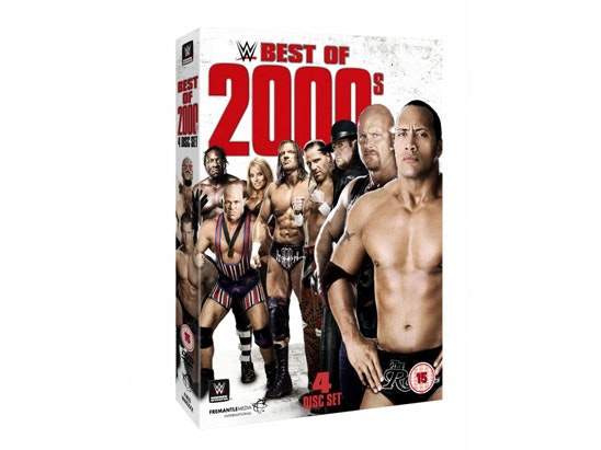 WWE: Best of 2000's sweepstakes