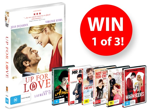 Up For Love DVD Packs sweepstakes