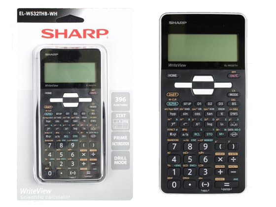 Sharp WriteView Scientific Calculator  sweepstakes