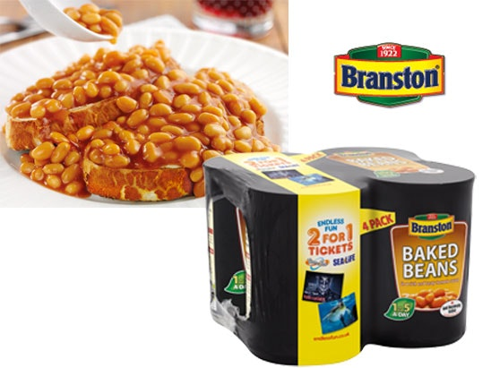 £500 of supermarket vouchers with Branston sweepstakes