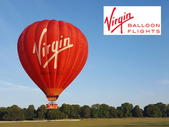 a luxury Virgin Balloon Flight Gift Package for two sweepstakes