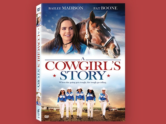 """A Cowgirl's Story"" on DVD sweepstakes"