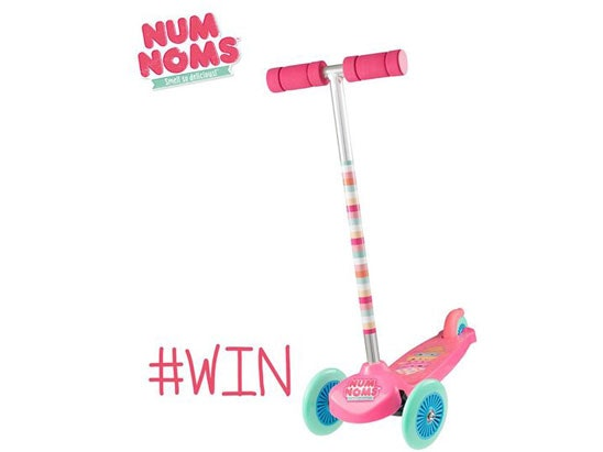 Num Move n Groove Scooter sweepstakes