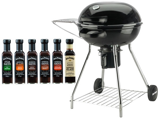 "a Flame Master 22"" Charcoat Kettle BBQ plus Jack Daniel's Barbecue Sauces sweepstakes"
