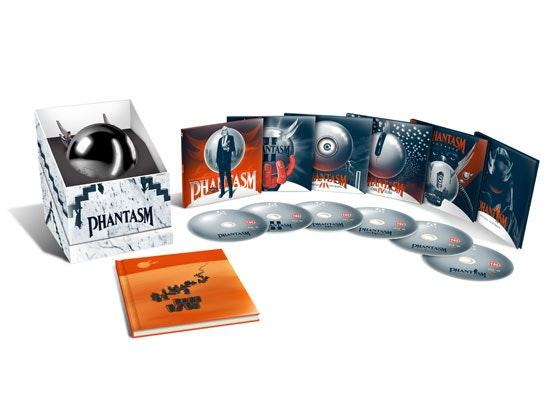 Phantasm 1-5: Limited Edition Blu-ray boxset sweepstakes