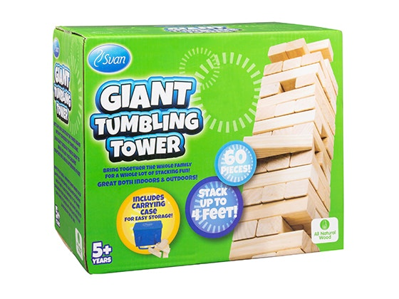 Svan's Giant Tumbling Tower sweepstakes