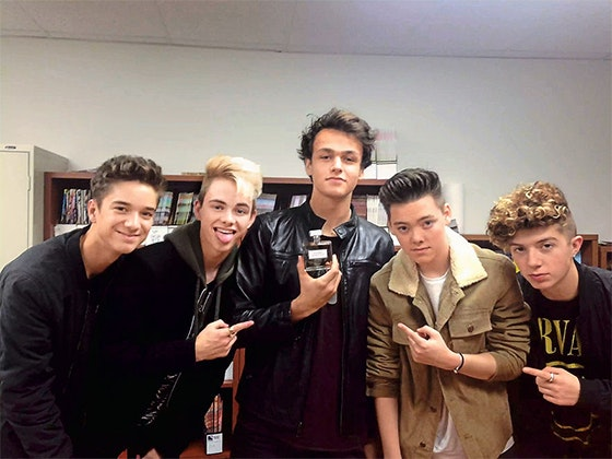 Why Don't We's Signed Perfume sweepstakes