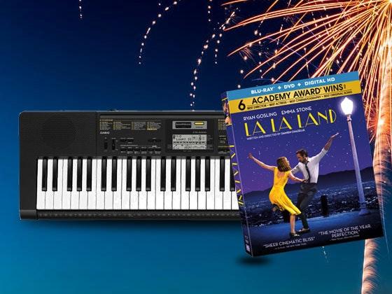 LaLaLand Keyboard Giveaway sweepstakes