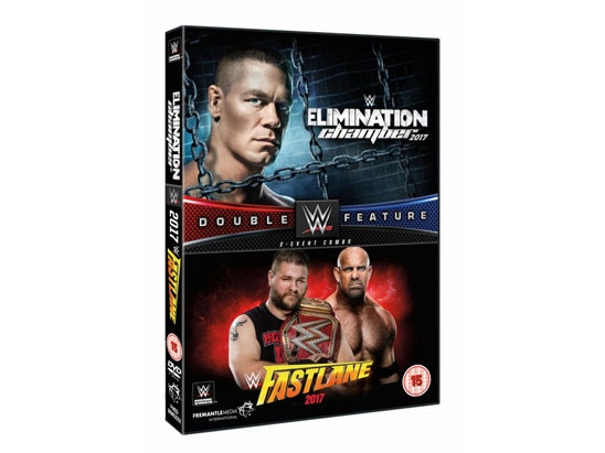 WWE - Elimination Chamber 2017 and Fastlane 2017 Double sweepstakes