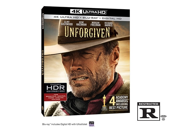 """Unforgiven"" on 4K Ultra HD Blu-ray™ sweepstakes"