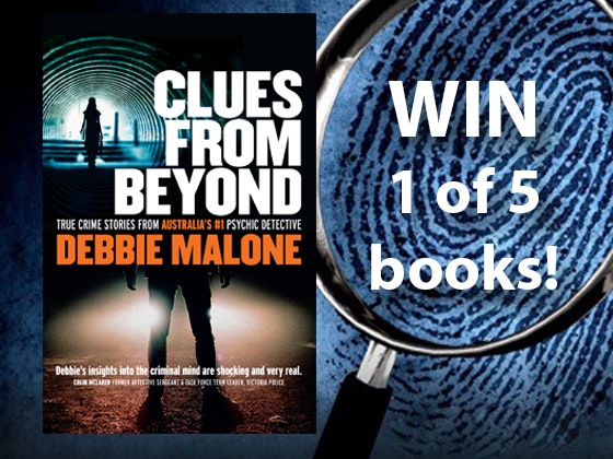 Clues From Beyond Crime Psychic Books sweepstakes