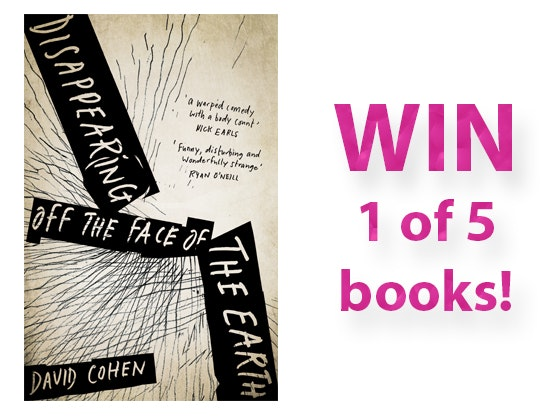 Disappearing off the Face of the Earth Book sweepstakes