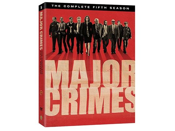 Major Crime Fifth Season on DVD sweepstakes