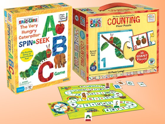 Eric Carle Children's Game Pack  sweepstakes