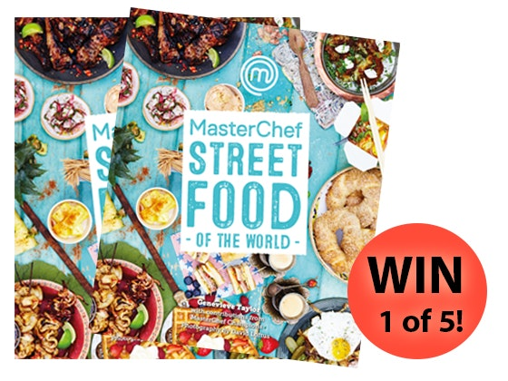 Masterchef Street Food Recipe Book  sweepstakes