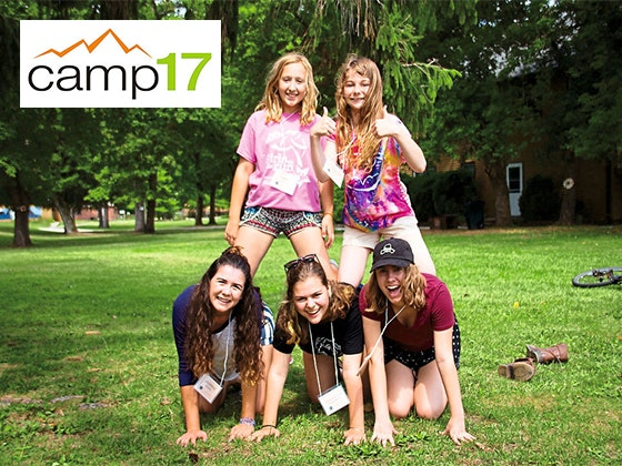 Admission to Camp17 Creator Camp sweepstakes