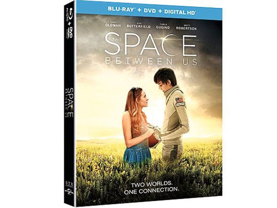 The Space Between Us on Blu-ray combo pack sweepstakes