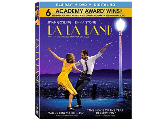 LA LA LAND on Blu-ray Combo Pack sweepstakes