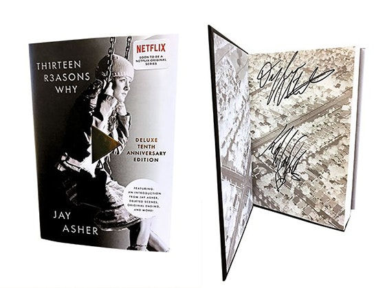 13 Reasons Why Signed Book sweepstakes