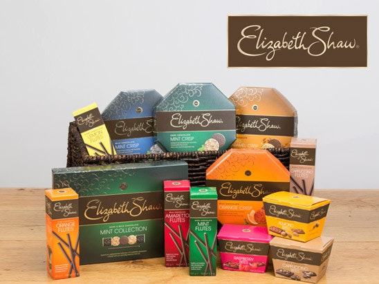 Elizabeth Shaw Chocolate hamper sweepstakes