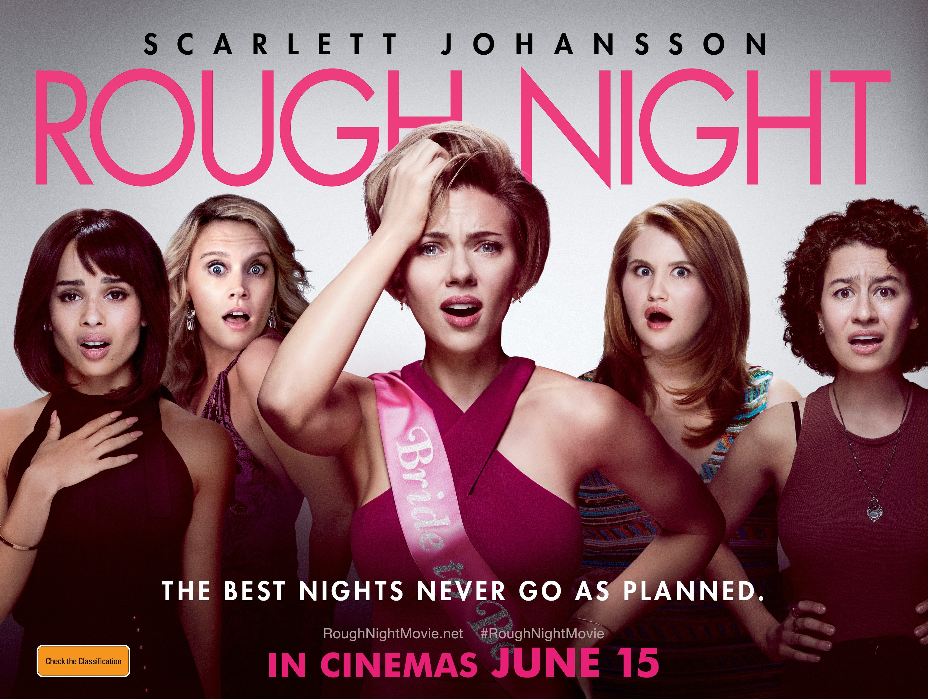 Double Passes to the movie Rough Night  sweepstakes
